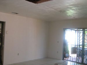 fire damage living room miami-dade