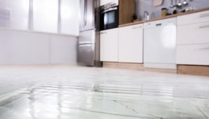 water damage floor palm beach