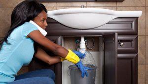 leaky sink miami-dade